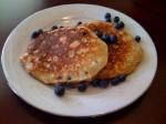 Banana Blueberry Pancakes