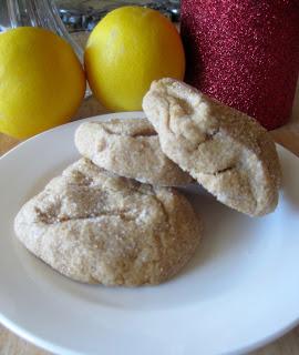 Stay Healthy Lemon Cookies