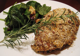 Stay Healthy Marinated Stuffed Pecan Crusted Chicken Breast