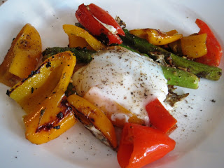 Stay Healthy Poached Eggs over Vegetables