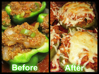 Stay Healthy Quinoa Stuffed Bell Peppers