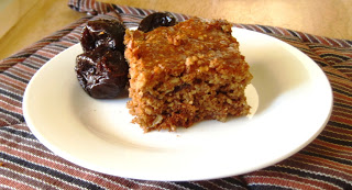 Spicy Prune Protein Cake