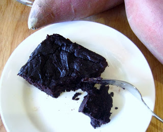 Stay Healthy Flourless Sweet Potato Chocolate Brownies