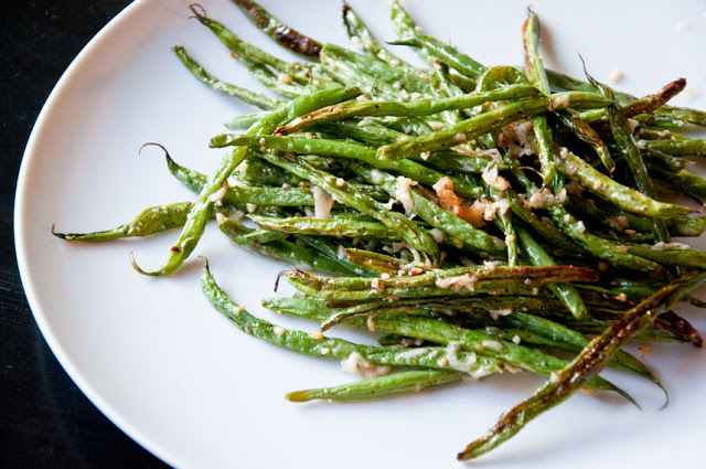 Stay Healthy Oven Roasted Green Bean Fries
