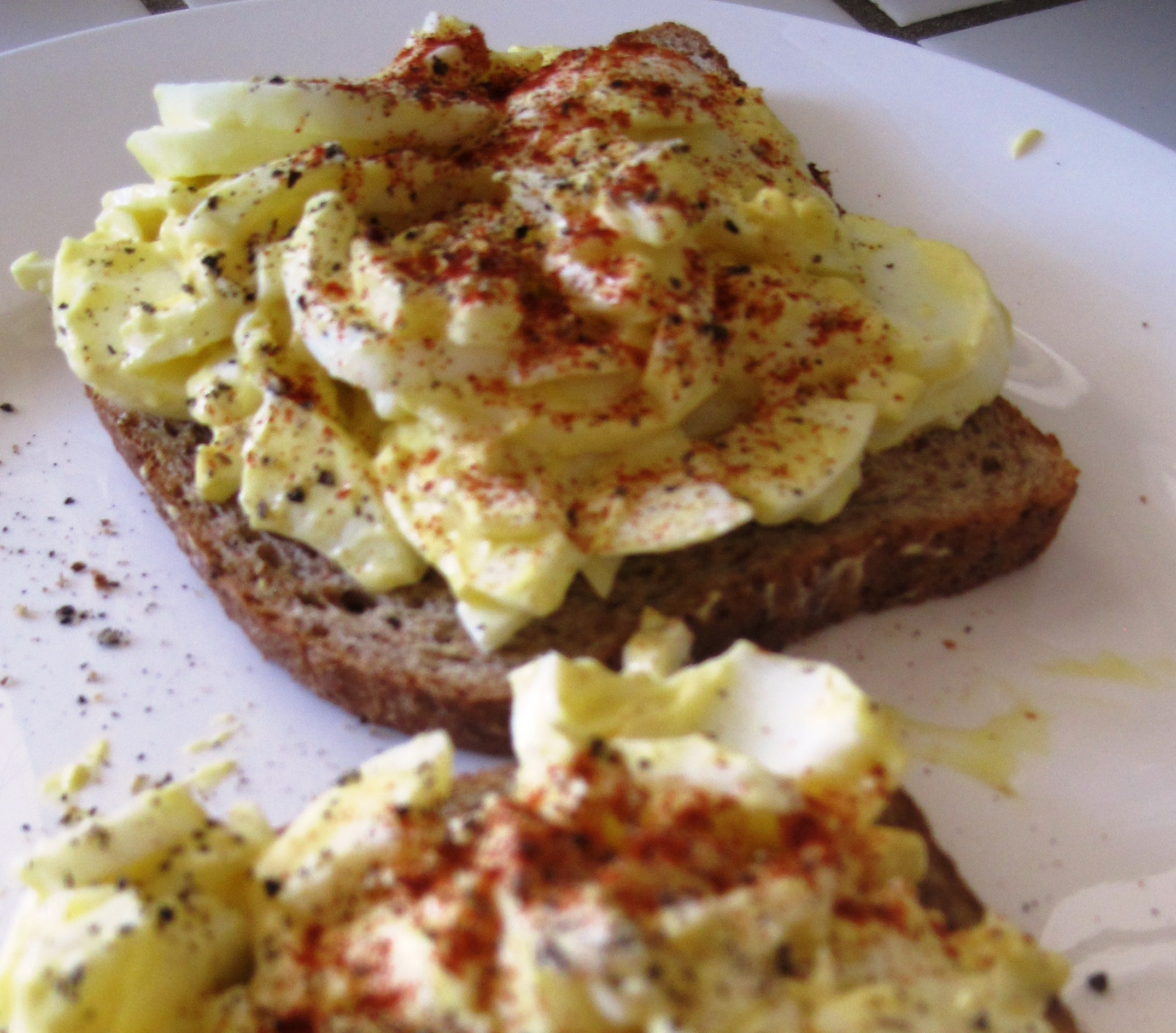 Stay Healthy Eggs on Toast