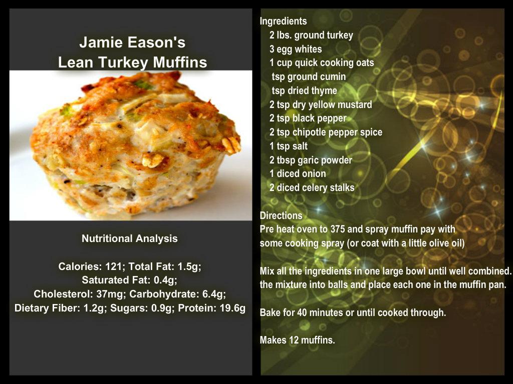 Stay Healthy Lean Turkey Muffins