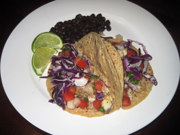 Stay Healthy Tilapia Tacos