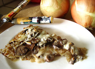 Stay Healthy Caramelized Onion Bella Pizza