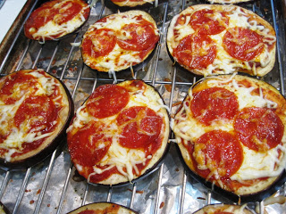 Stay Healthy Eggplant Pizza