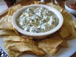 Spinach Artichoke Yogurt Dip