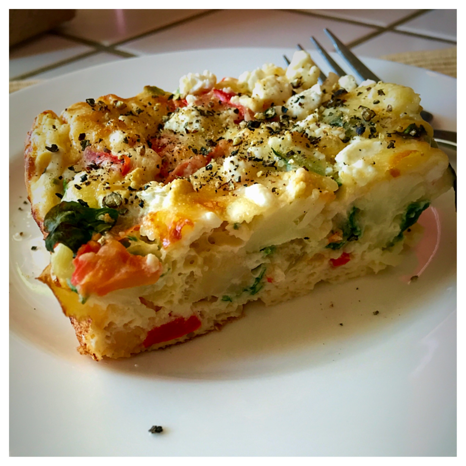 Egg white vegetable frittata recipe for a Stay Healthy ...